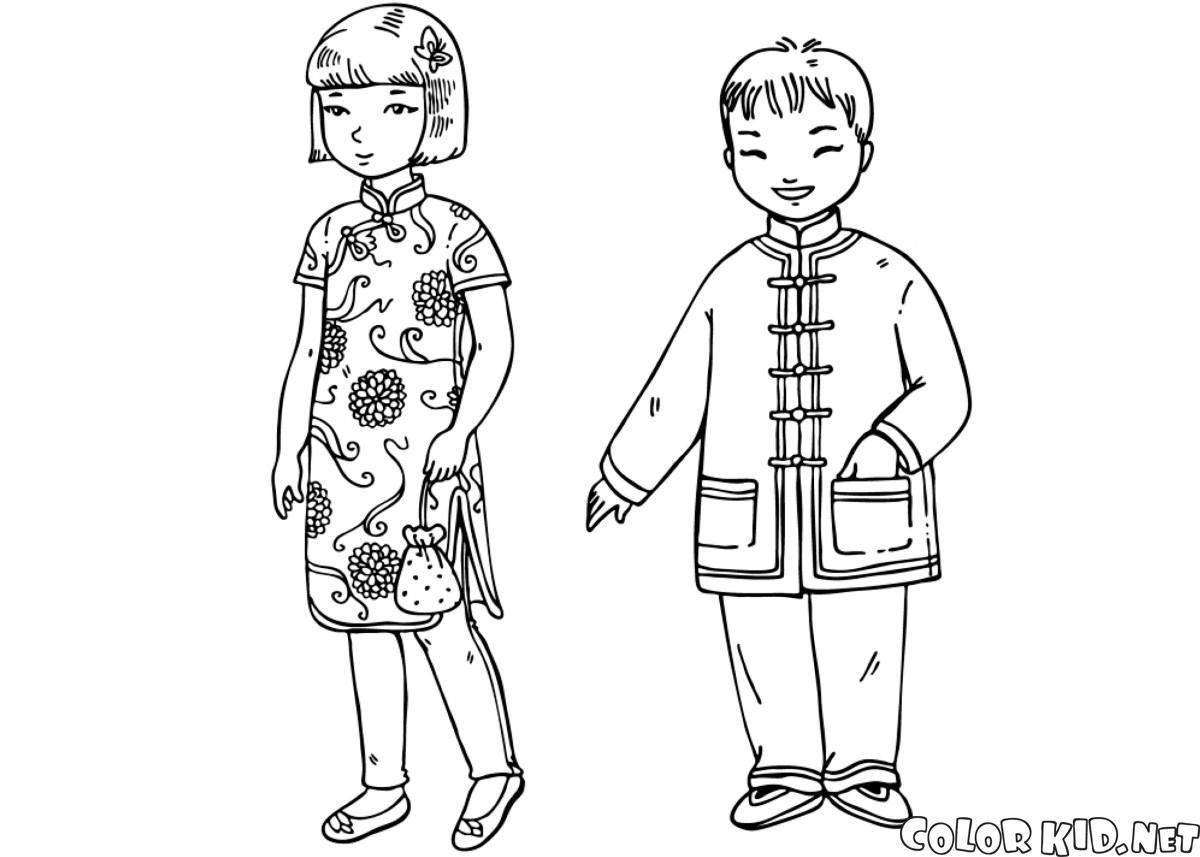 Chinesische Kinder