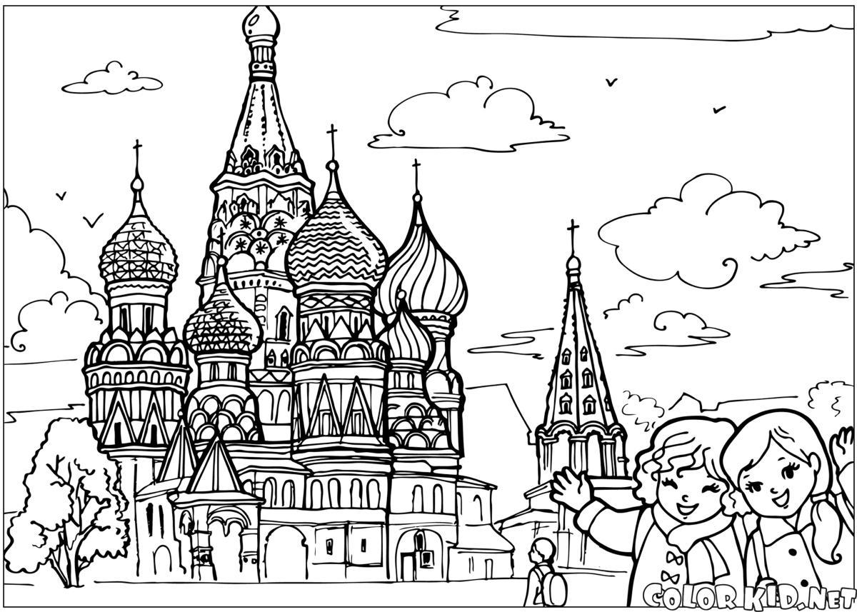 Der Tempel im Kreml