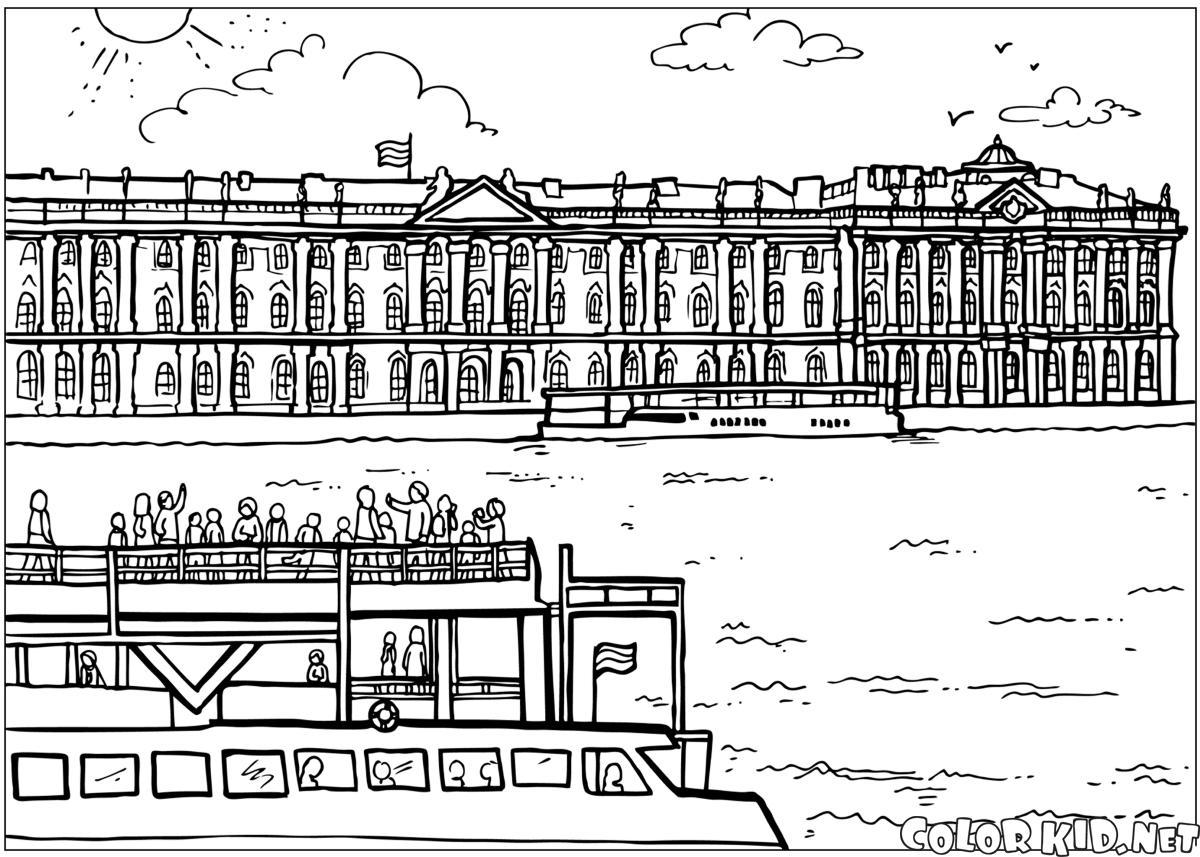 Winterpalast in St. Petersburg
