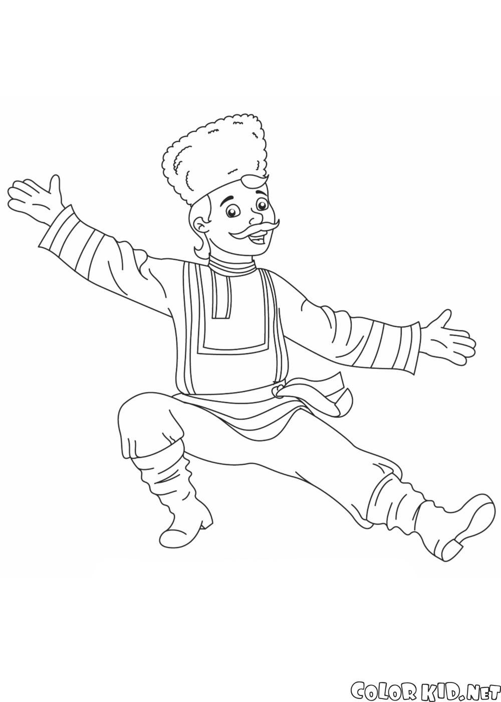 Russische Tänzerin