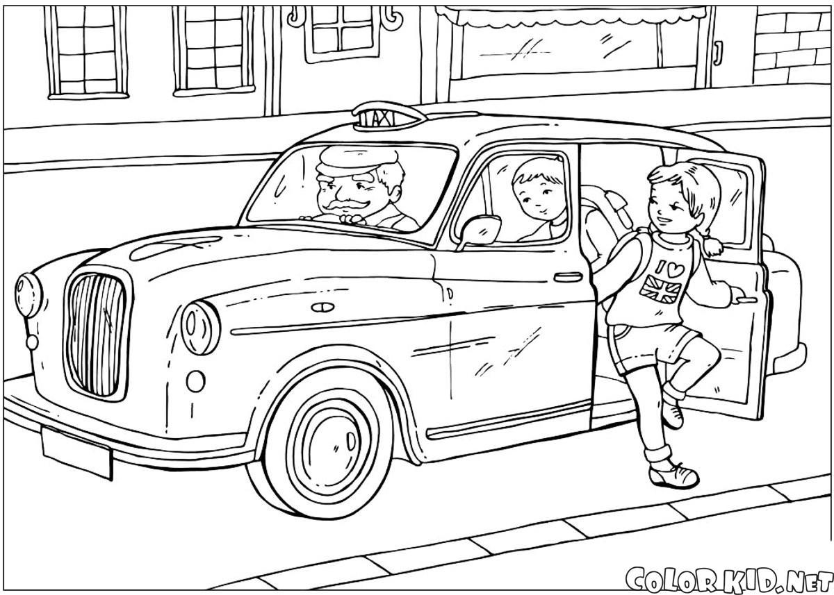 Britische Taxi