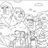 Die Skulpturen von Mount Rushmore